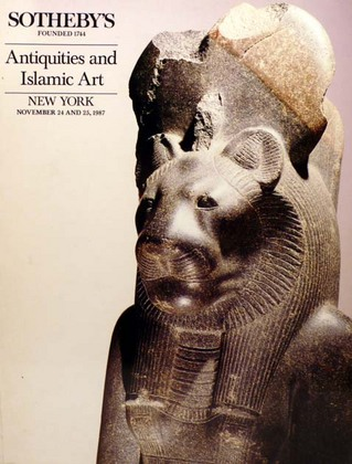 Antiquities and Islamic Works of Art