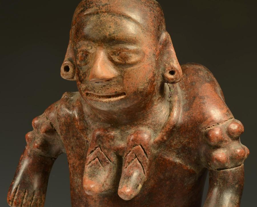 Colima Pottery Shaman in Transformation