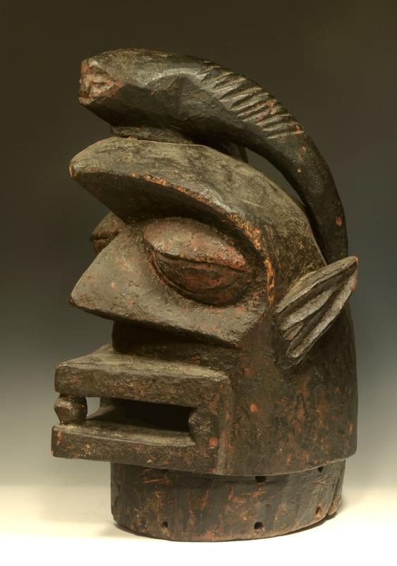 Yoruba Wood Epa Mask Ex. Pace Primitive