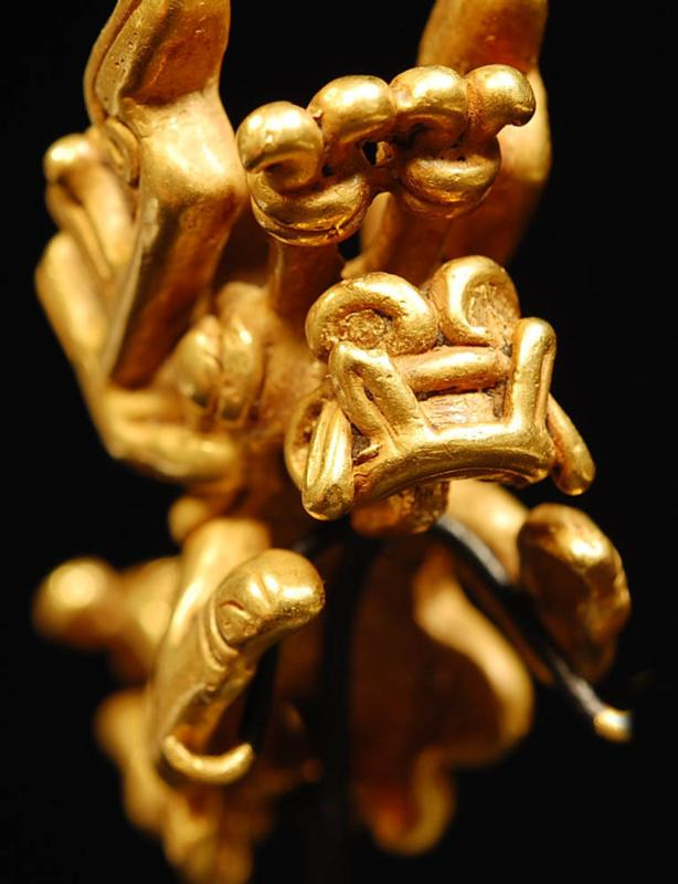 Tolima Gold Zoomorphic Transformation Figure