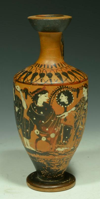 Attic Black Figure Lekythos with The Three Graces & Attic Black Figure Lekythos with The Three Graces - Classical ...