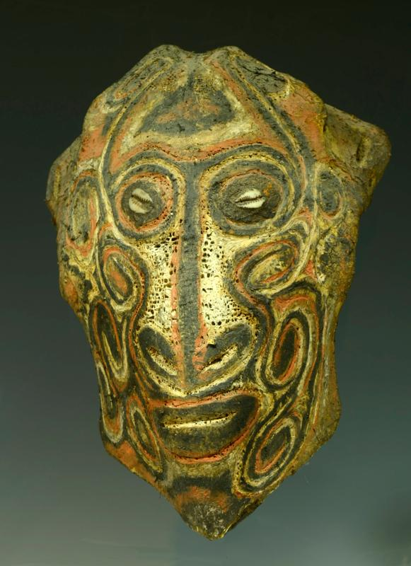 New Guinea Bone Adjirab Painted Mask