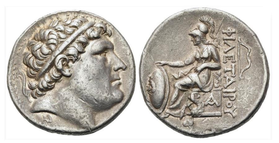 Greek Silver AR Tetradrachm for Eumenes I