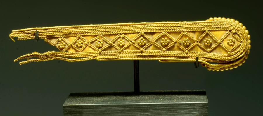 Greek Gold Diadem or Jewelry Strap