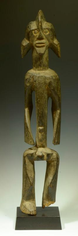 African Wood Carved Mumuye Figure