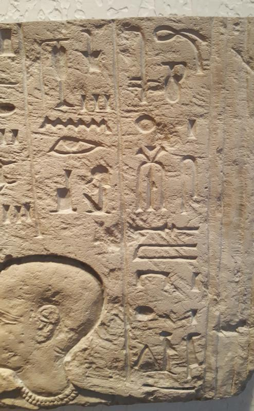 Egyptian Limestone Inscribed Relief for the Royal Butler Ramessesemperre,