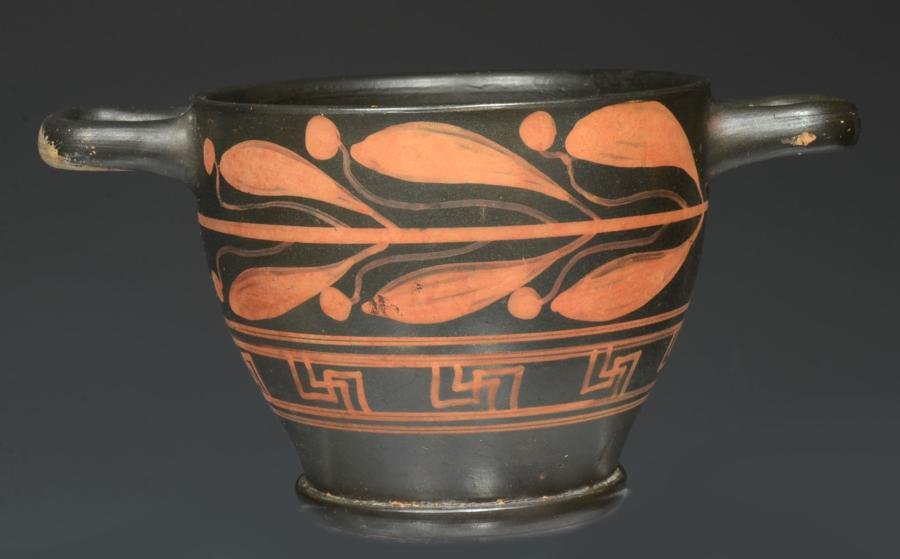 Xenon ware Pottery Decorated Skyphos