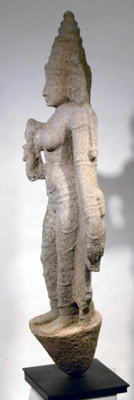 Indian Granite Stone Figure of Pavarti