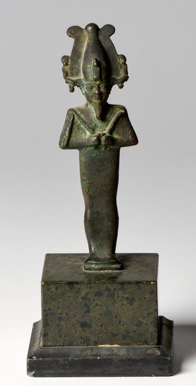 Ancient Egyptian Bronze Osiris