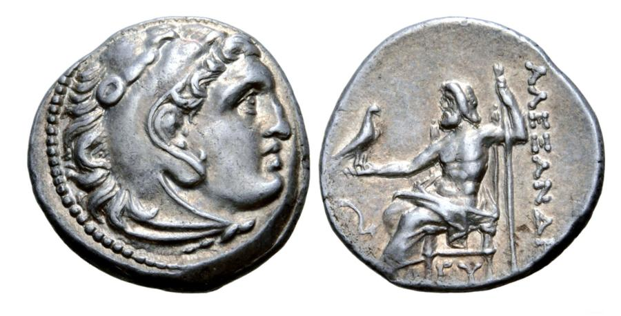 Greek Silver AR Drachm for Karia, Mylasa