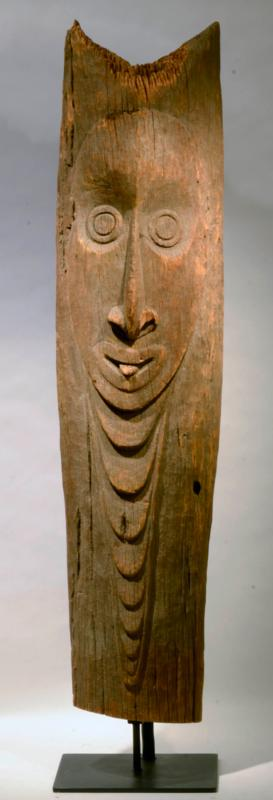 New Guinea House Post Ancestor Figure