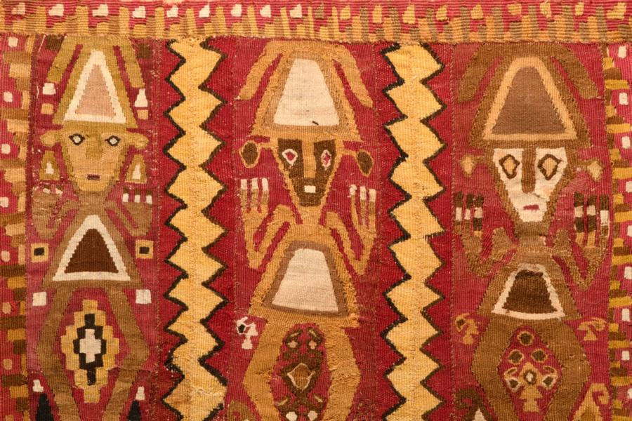 Chimu Panel with Large Figures & Fringes