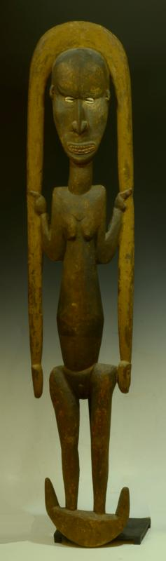 Papua New Guinea Basket Hook Figure