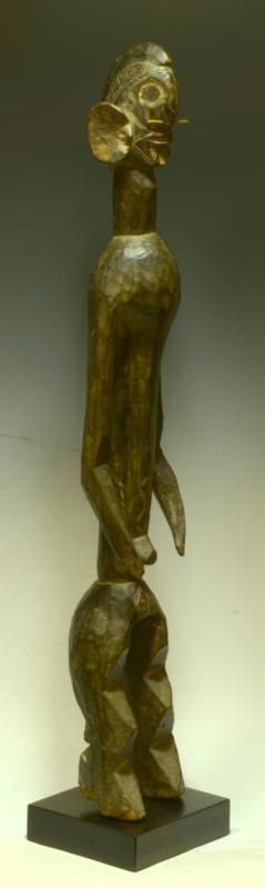 Superb African Wood Carved Mumuye Figure