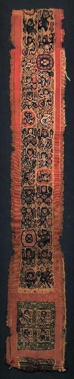 Fine Ancient Coptic Tunic Colorful Textile Band
