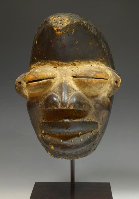 Dan Wobe Wood Carved Initiation Mask