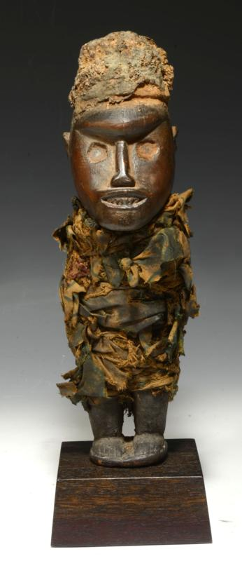 Bakongo Wood Power Figure
