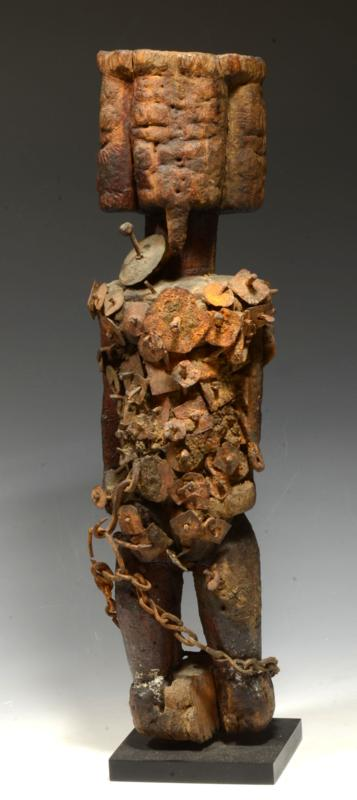 Ancient Dogon Wood Fetish Figure