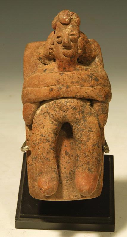 Colima Pottery Bed Figure